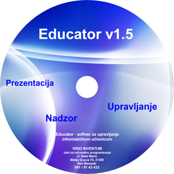 Cover CD-a od Educator-a
